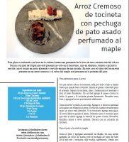 receta Arroz cremoso de Tocineta