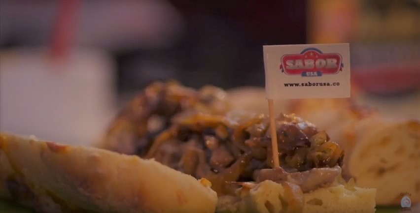 Receta de Sandwish Philadelphia Cheese Steak 2018